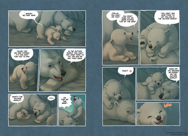 The Last of the Polar Bears pgs 6-7