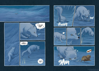 The Last of the Polar Bears pgs 8-9