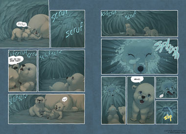 The Last of the Polar Bears pgs 12-13