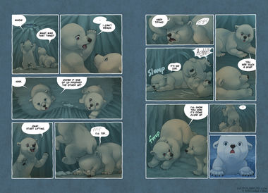 The Last of the Polar Bears pgs 14-15