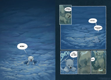 The Last of the Polar Bears pgs 16-17
