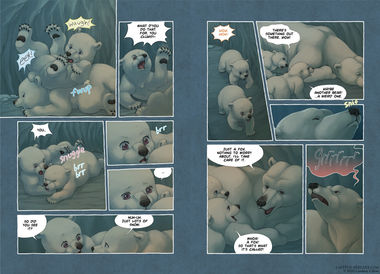 The Last of the Polar Bears pgs 18-19
