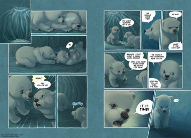 The Last of the Polar Bears pgs 24-25