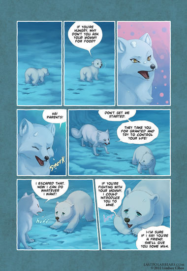 The Last of the Polar Bears pg 32