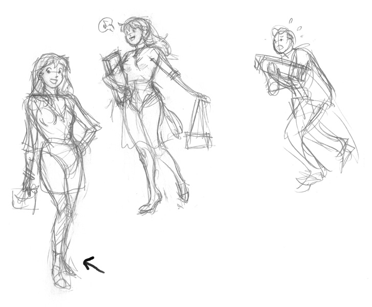Lindsay Cibos' Art Blog: Finding the Right Pose - Archie