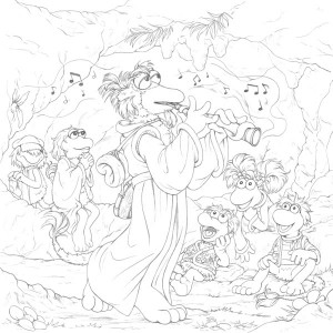 Fraggle Rock Cover Illustration – Coloring Step-by-Step ...