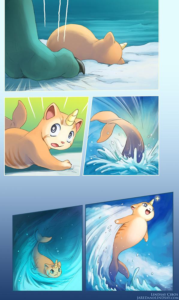 sea_kitten_by_lcibos-d6r8ewq